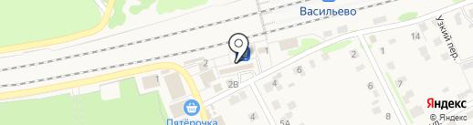 Сад-огород на карте Васильево