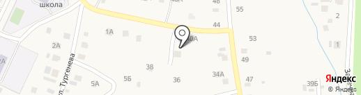 Набережно-Морквашское сельское поселение на карте Набережных Моркваш