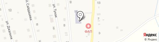Почтовое отделение на карте Набережных Моркваш
