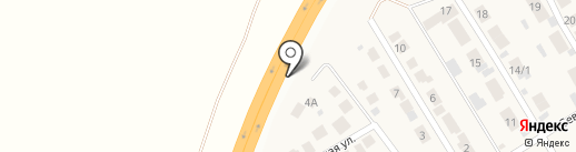 Автостандарт на карте Осиново