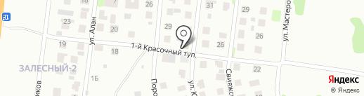 РВ на карте Казани
