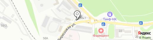 Рыболовный магазин на карте Казани