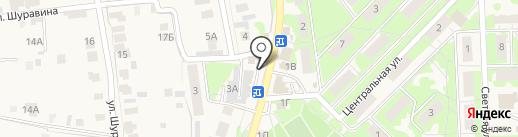 Шиномонтажная мастерская на карте Осиново