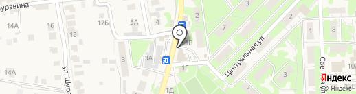 СервисМойка на карте Осиново