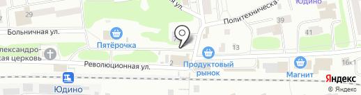 Магазин одежды и обуви на карте Казани