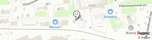 Магазин художественных товаров на карте Казани