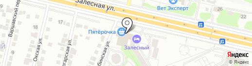 Салон-парикмахерская на карте Казани