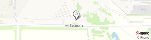 Автостоянка на карте Осиново
