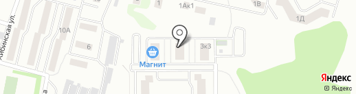 Залесный Сити на карте Казани