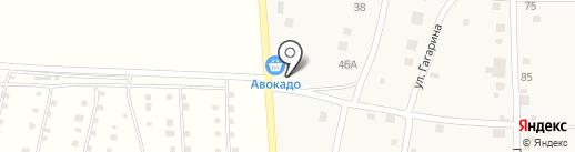 Продуктовый магазин на Красноармейской на карте Нижнего Услона