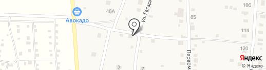 Продуктовый магазин на карте Нижнего Услона