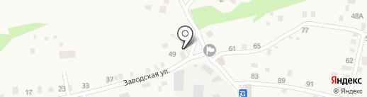 Почтовое отделение на карте Нижнего Услона
