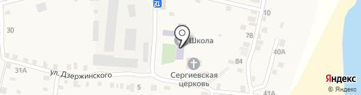 Средняя общеобразовательная школа на карте Нижнего Услона