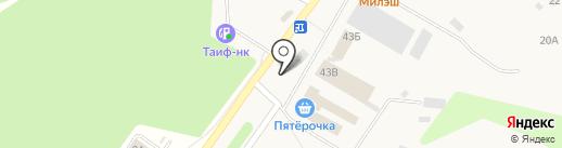 Нотариус Садретдинова Л.Э. на карте Верхнего Услона