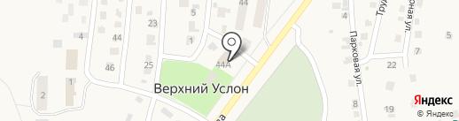 Банкомат, Сбербанк, ПАО на карте Верхнего Услона