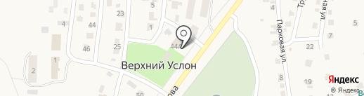 Сбербанк России на карте Верхнего Услона