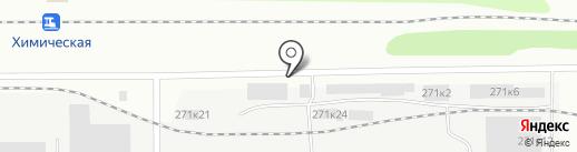 Автоказанец на карте Казани