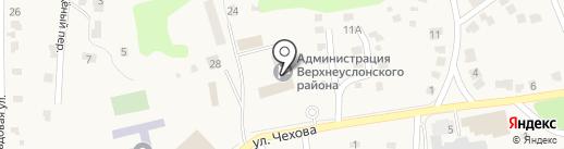 Банкомат, Сбербанк России на карте Верхнего Услона