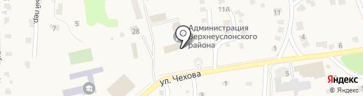 Банкомат, АК БАРС БАНК, ПАО на карте Верхнего Услона
