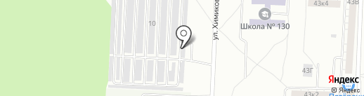 Автофарт на карте Казани