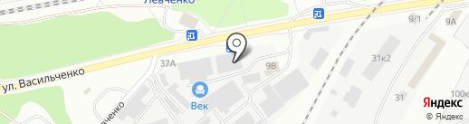 ВекаСтрой на карте Казани