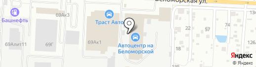 Роза Авто на карте Казани