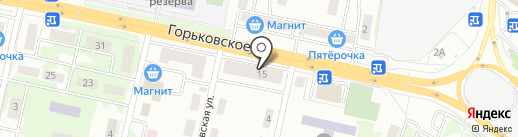 Ателье на карте Казани