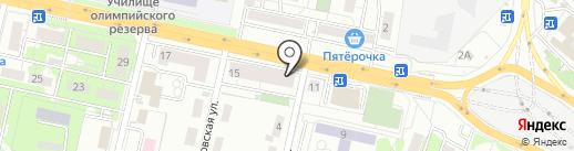 Мистер карс на карте Казани