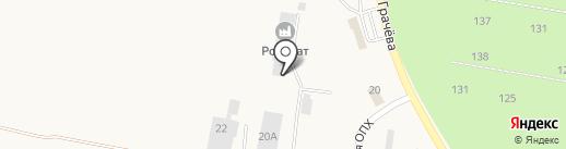 Робокат на карте Ягодного