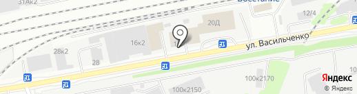 Компания БСК на карте Казани
