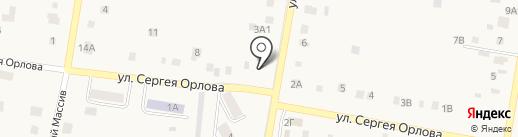 Ягодинский сладкоежка на карте Ягодного