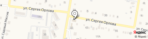 Сальве на карте Ягодного