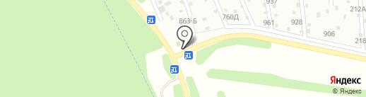 Садко на карте Озерного