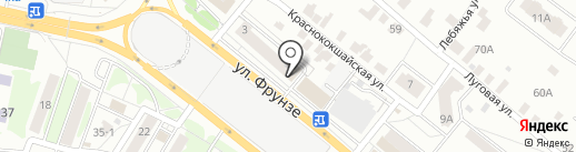 Мясомаркет на карте Казани