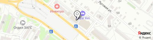 Планета одежды и обуви на карте Казани