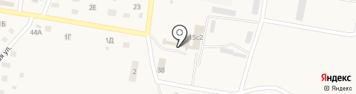 Гвоздик на карте Ягодного