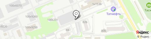 Диарс на карте Казани
