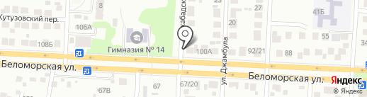 Авто-Друг на карте Казани