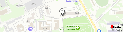 Рекламный Двор на карте Казани