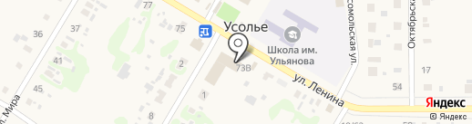 Усольский торговый дом на карте Усолья