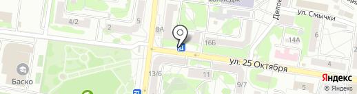 Пункт продажи транспортных карт на карте Казани