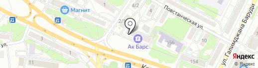 Сбербанк, ПАО на карте Казани