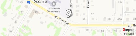 Подсолнух на карте Усолья