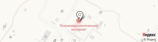Шигонский пансионат милосердия для инвалидов на карте Усолья