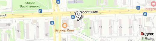 Добропек на карте Казани