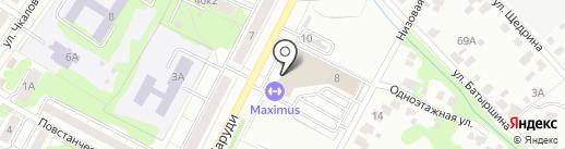 Банкомат, Банк ВТБ 24, ПАО на карте Казани