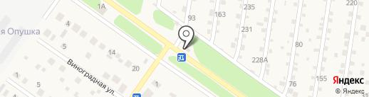 Жигулевское со дна на карте Ягодного