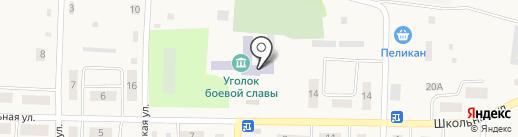 Средняя общеобразовательная школа на карте Луначарского