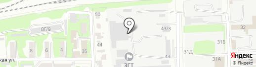 Автолига на карте Казани