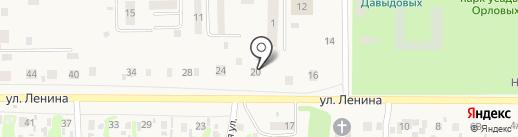 Любава на карте Усолья